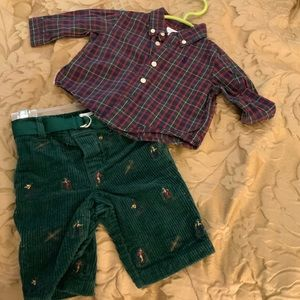 Boy's Polo Set